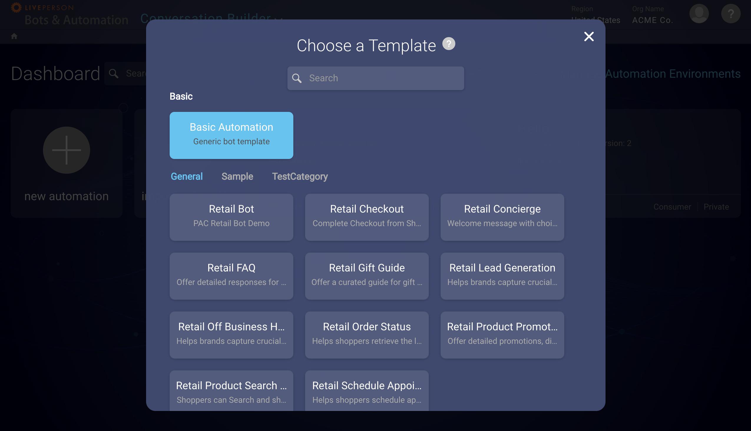Conversation Builder - Overview | LivePerson Developers
