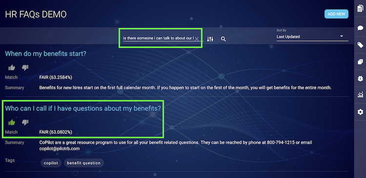 Conversation Builder - Training and Tuning Your Intents and