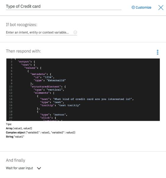 Bot Connectors - IBM Watson Assistant | LivePerson Developers